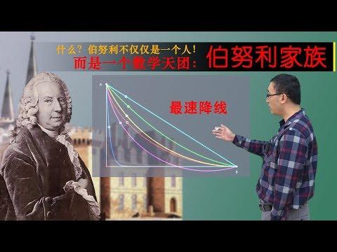 """数学家有嫉妒心是有多可怕?李永乐老师讲最速降线和伯努利家族""""宫斗"""""""