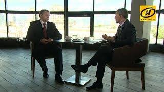 Председатель Мингорисполкома Андрей Шорец дал интервью программе «Контуры»