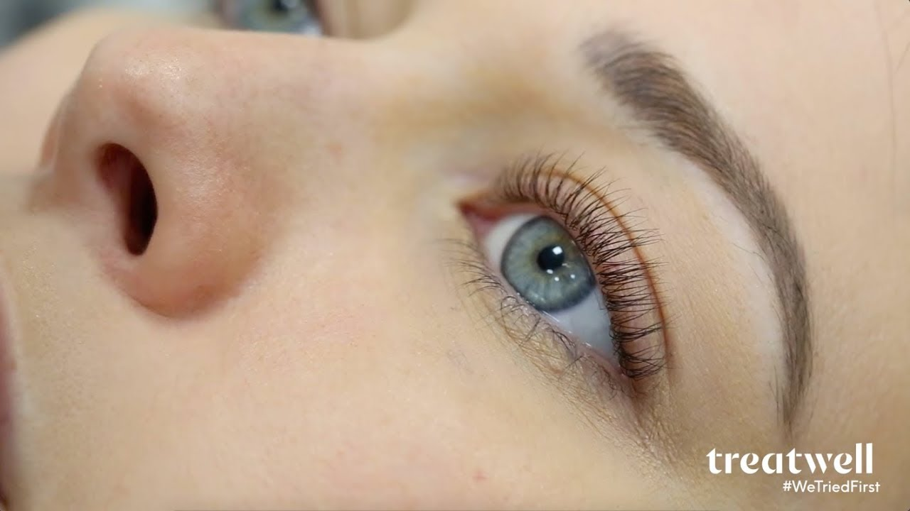 23cf3f73603 WTF is... LVL Lashes?   #WeTriedFirst - YouTube