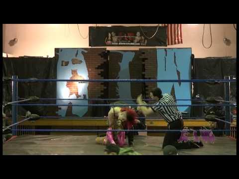 Jasmin Areebi (NXT's Aliyah) VS. Angelus Layne -Absolute Intense Wrestling