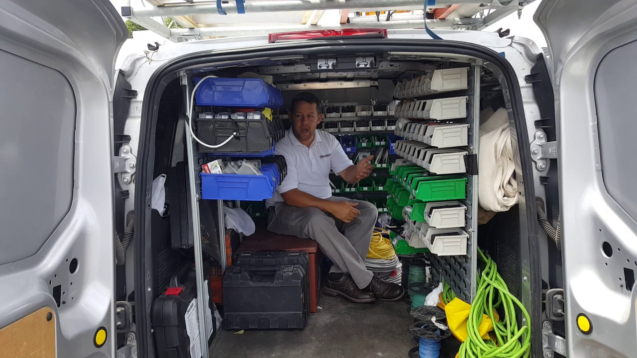 An Exclusive Look Inside Electrician S Service Truck