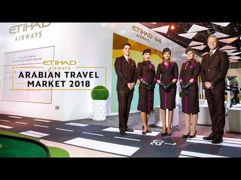 Etihad Airways at Arabian Travel Market 2018
