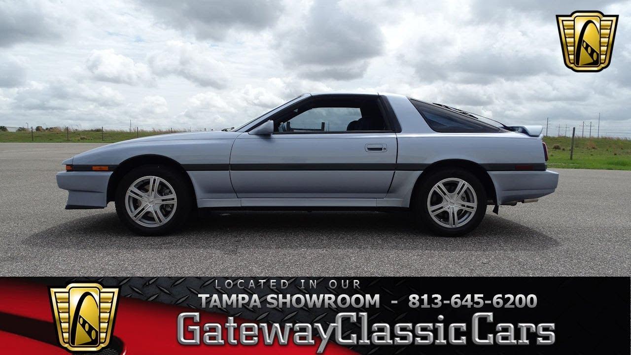 1987 Toyota Supra Targa Turbo Gateway Tampa #1166