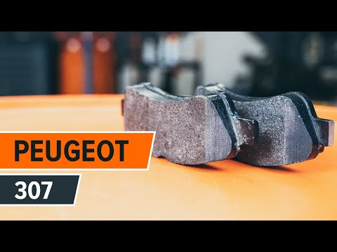 How to replace rear brake discs and rear brake pads on PEUGEOT 307 TUTORIAL | AUTODOC