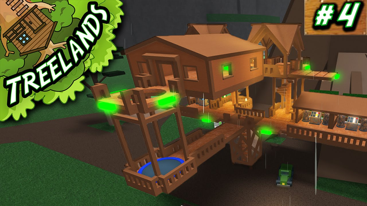 Treelands Ep Tree House Expansion Roblox YouTube - Group guys build epic treehouse gaming
