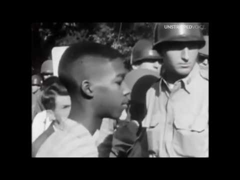 When The Little Rock 9 Integrated (Crazy Footage)