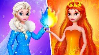Elsa ve Anna'nın Pratik Bilgileri / 10 Kendin Yap Tarzı Frozen