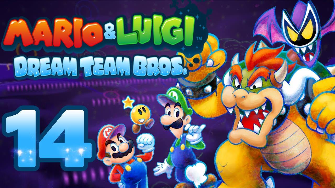 Let S Play Mario Luigi Dream Team Bros Part 14 Mario Im Kampf