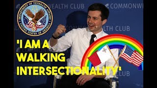 The Liberal Media Can't Stop Slobbering Over Mayor Pete Buttigieg