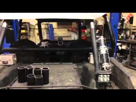 2015 rzr xp 1000 4 roll cage chop