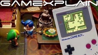 New Zelda: Link's Awakening Remake Gameplay Clips! + Switch vs Game Boy Comparison & Changes