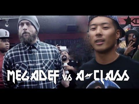 KOTD - Rap Battle - Megadef vs A-Class