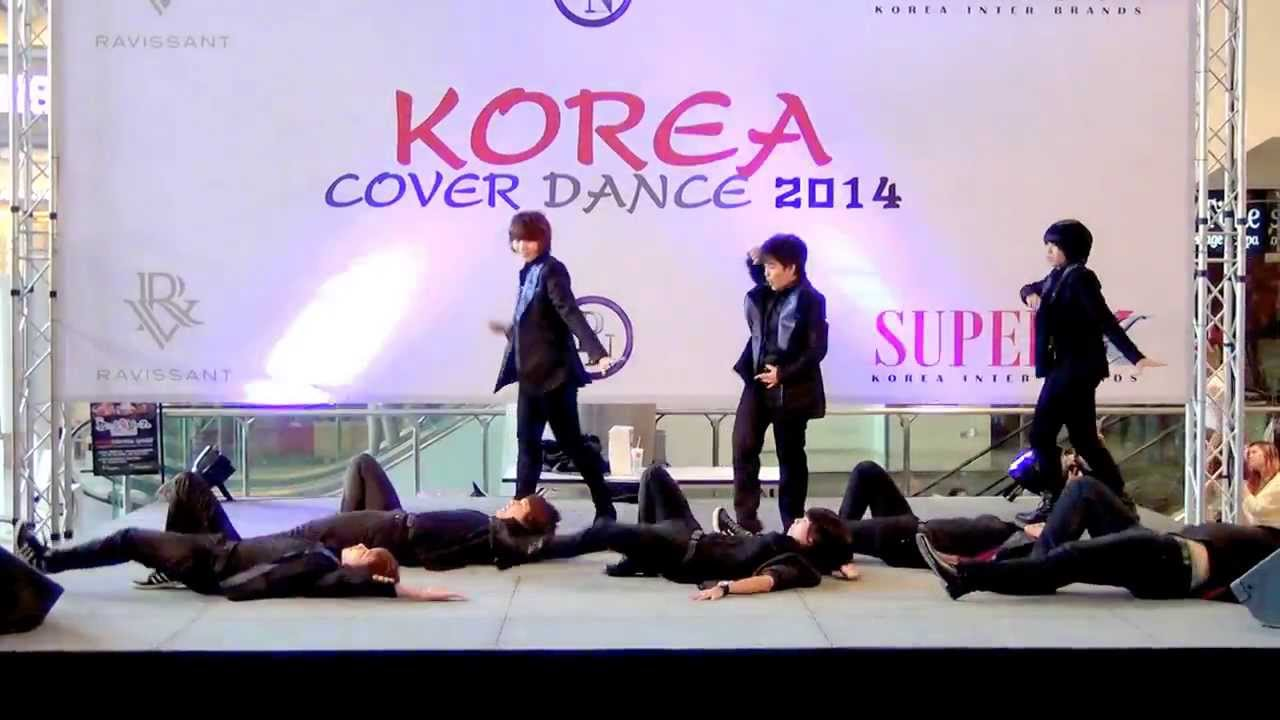 140302 CRAM'inz cover Super Junior - Sexy, Free & Single @Esplanade Korea Cover Dance 2014