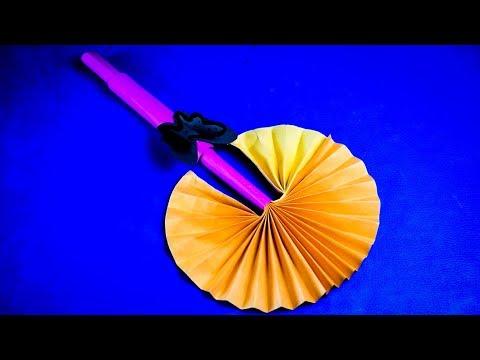 DIY Paper POCKET FAN | Summer Special Easy Paper Folding Pocket Fan Full Tutorial
