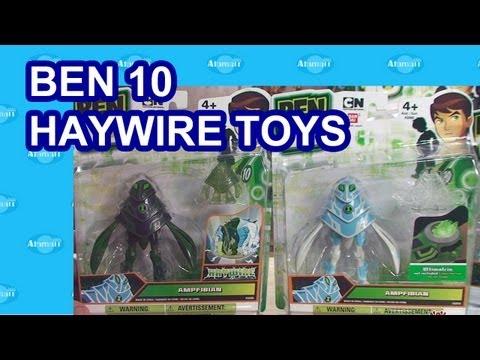 Ben 10 Haywire Toys Ben 10 Toy Reivew