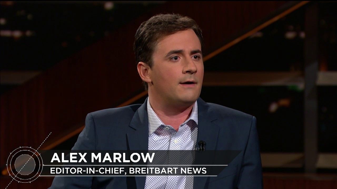 Breitbart Editor Alex Marlow | Real Time with Bill Maher (HBO ...
