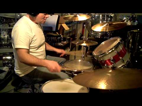 Led Zeppelin's  SICK AGAIN * DRUM LESSON John Bonham