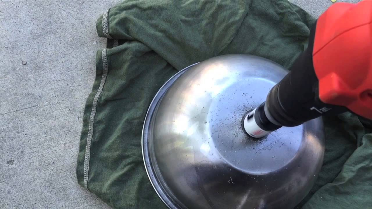 DIY Stainless Sink from salad bowl  YouTube