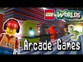 Arcade Games: Designing and Building in LEGO Worlds: LEGO Jurassic World