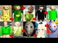 Evolution of Baldi in Baldi's Basics 2019