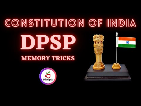 Ch08-Trick to Remember DPSP Articles   Directive Principles Of State Policy
