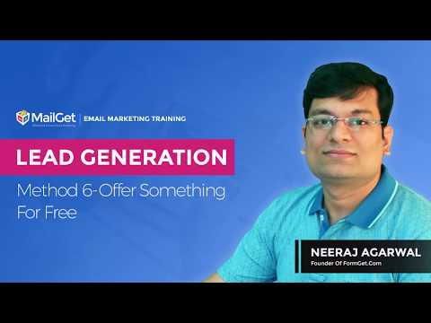 Video-12 Lead Generation Method-6 Offer Some thing For Free