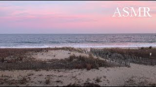 ASMR at the Beach (whispering, guided meditation)