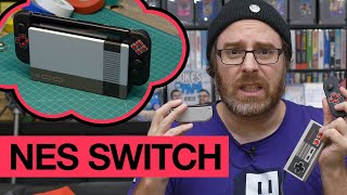 Modifier une Nintendo Switch en NES : BRICOLER C