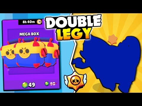 DOUBLE LEGENDARIES UNLOCKED! BIG MEGA BRAWL BOX OFFER OPENING IN BRAWL STARS!