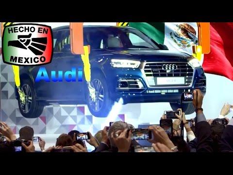 Puebla, México : 1ra. Planta Automotriz en Norte América, Audi México