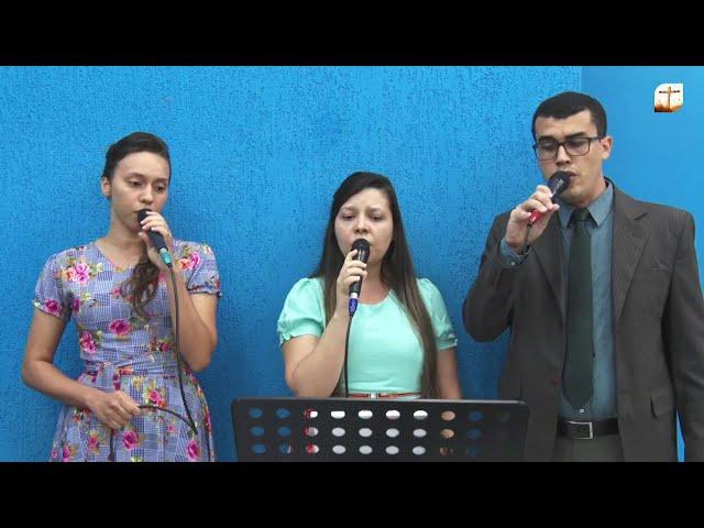 Jesus Cristo me Salvou   Edmar, Marcia e Sunamita   Tabernáculo da Fé Campinas/SP.