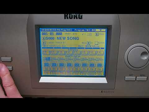 Korg TRITON EXB-PCM05 Vintage Archives Expansion Card  Demo (all patches)