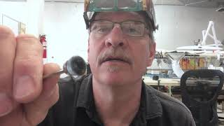 Cleaning Jewelry Files Using a Small Steel Brush