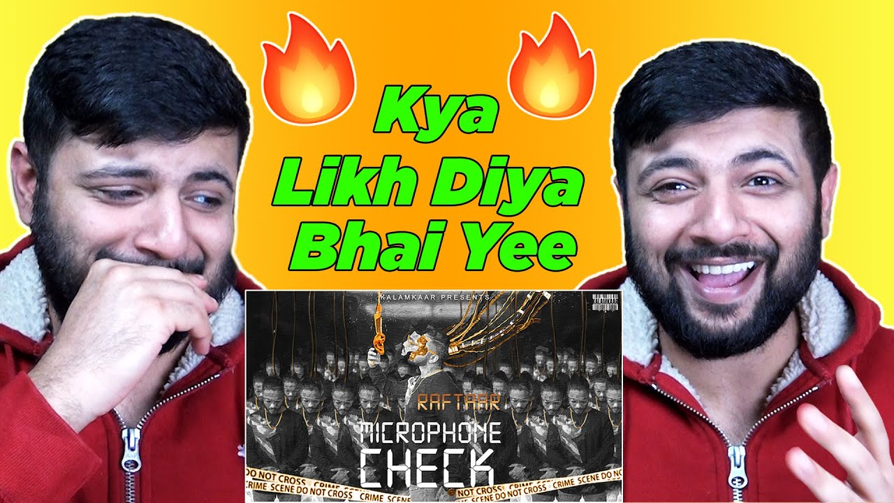 Pakistani Reacts to RAFTAAR - MICROPHONE CHECK | BAR'ISH EP | Official Music Video