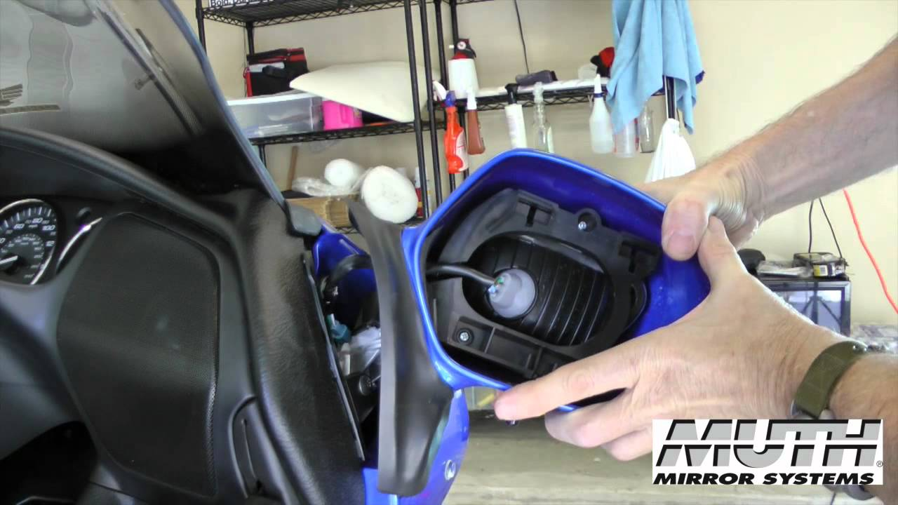 How To Install Muth Signal 174 Mirrors On Honda Gl1800