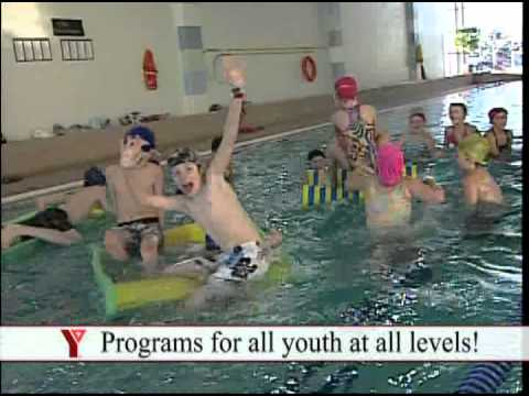 Fun in the pool at the Moncton YMCA  YouTube