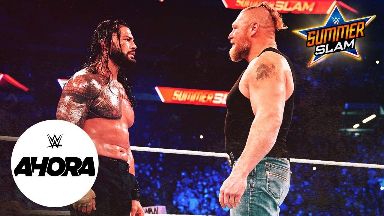 Download Brock Lesnar y Becky Lynch de regreso en SummerSlam: WWE Ahora, Ago 21, 2021