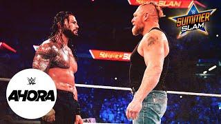 Brock Lesnar y Becky Lynch de regreso en SummerSlam WWE Ahora Ago 21 2021