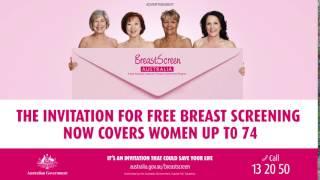 Breast Screen Digital Slide Campaign: Australian Gov