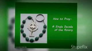 ╆ pray a single decade of the rosary catholic prayers ╆