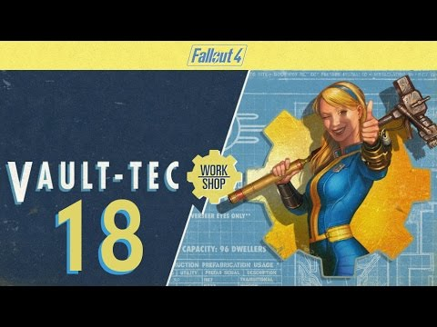 FALLOUT 4 (Vault-Tec Workshop) #18 : Greedy Settlers Get Even More Food
