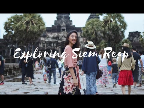 EXPLORING SIEM REAP, CAMBODIA | Travel Vlog