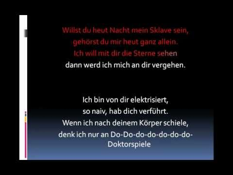 Alex C. Feat. Yass - Doktorspiele (Lyrics)