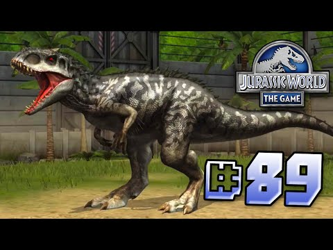 Leveling Up Indominus! || Jurassic World - The Game - Ep 89 HD