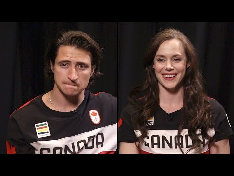 How well do Scott Moir and Tessa Virtue know each other?