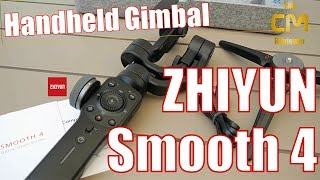 Zhiyun Smooth 4 Test: Smartphone Gimbal - Hands-on (Deutsch, eng. hi...