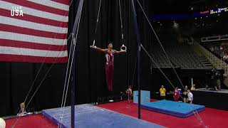 Yul Moldauer On Rings   Champions Series Presented By Xfinity