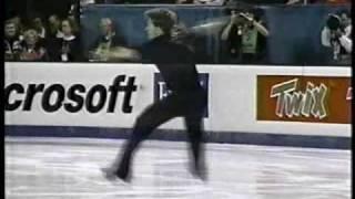 Michael Slipchuk SP 1992 World Figure Skating Championships