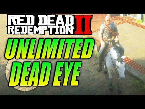 Red Dead Redemption 2 Tips - HOW TO GET UNLIMITED DEAD EYE
