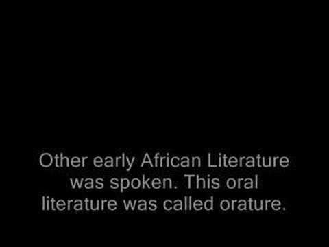 literary background of african literature The literary map of africa is a bio-bibliographical database, designed to be a comprehensive research and information tool on african literature limag: littératures du maghreb--archive.